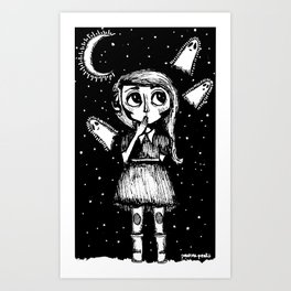All My Friends Are Dead  Art Print