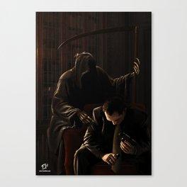 The Adviser Canvas Print
