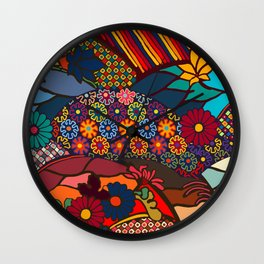 African Style No7, Wedding Day Wall Clock