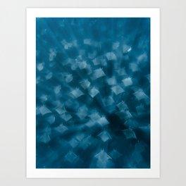 Mobula Rays in Baja California Sur, Mexico (Sea of Cortez) | Underwater Photography Art Print