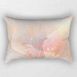 Floral Astract Rectangular Pillow