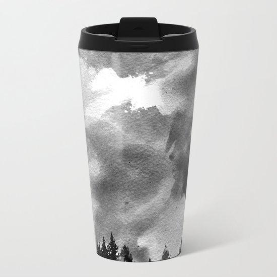 The Black Forest Metal Travel Mug