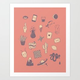This Is Not A Love Story Art Print