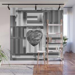 Jasper Heart in Vacancy Wall Mural