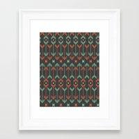 arrow Framed Art Prints featuring Arrow by Priscila Peress