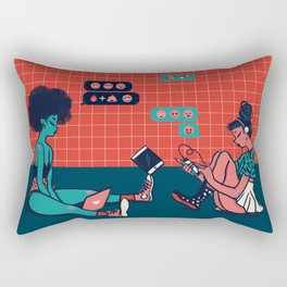 Millennial Mamas Rectangular Pillow