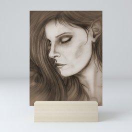 A Dreamer in the Ivy Mini Art Print