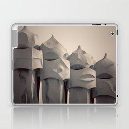 Gaudi's Chimneys Laptop & iPad Skin