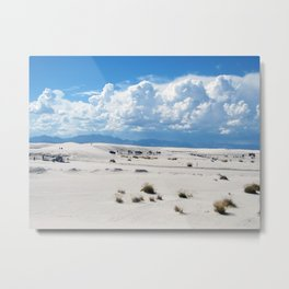 White Sands and Sky Metal Print