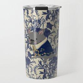 French Bulldog - BLUE Travel Mug