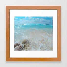 Cancun Mexico Framed Art Print
