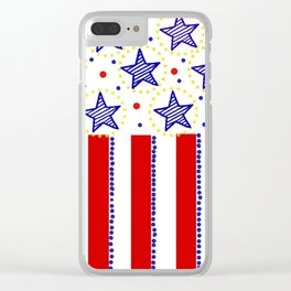 firecracker! Clear iPhone Case