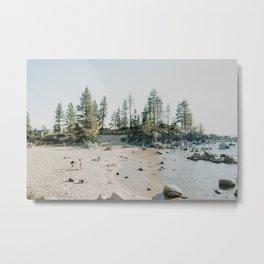 Summer at Sandy Metal Print