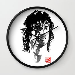 john rambo Wall Clock