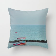Between Sea and Sky Throw Pillow