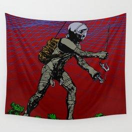 In Martian Fields Wall Tapestry