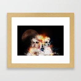 Angel & Jinn Framed Art Print