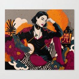 CARP-E-DIEM Canvas Print