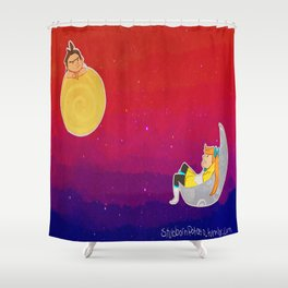 Lawyers in Space Shower Curtain