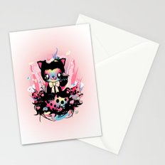 Lucky kitty Stationery Cards