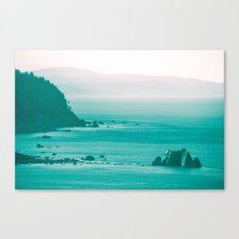 West Coast Dawn Fog Canvas Print