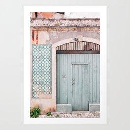 The mint door Art Print