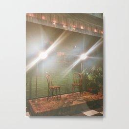 Emptiness and Light Metal Print