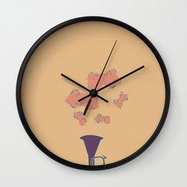 Salt Peanuts Wall Clock