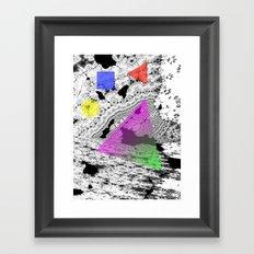 gene II forms Framed Art Print
