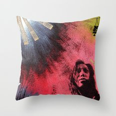 The Darkness & Beauty Throw Pillow