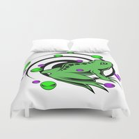 frog Duvet Covers featuring Frog  by Michael Moriarty Photography