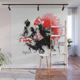 Samurai Duel Wall Mural