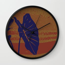 Lo'i Elements by Noho Designs  Wall Clock