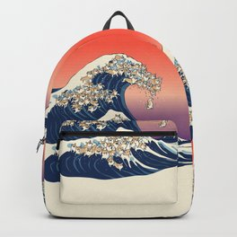 The Great Wave of Corgis Backpack