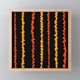 Etno colors Framed Mini Art Print