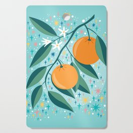 Oranges Cutting Board