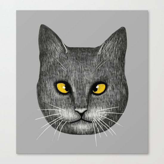Cross Eyed Canvas Print