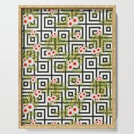 Geometric Jungle #society6 #decor #buyart Serving Tray