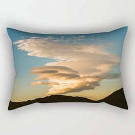 Clouds over the Sierra Nevada Rectangular Pillow