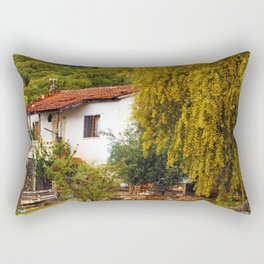 Alone Again in the Forest Rectangular Pillow