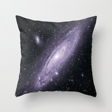 The Andromeda Galaxy Throw Pillow