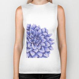 Big flower, purple chrysanthemum Biker Tank