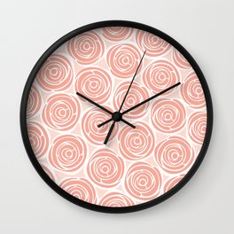 Say it with roses Wall Clock