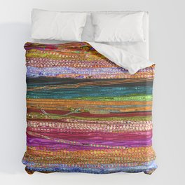 Indian Colors Duvet Cover