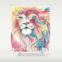 pride Shower Curtains featuring Pride by Art By Jen Duran
