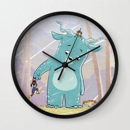 Friendly Creature Wall Clock