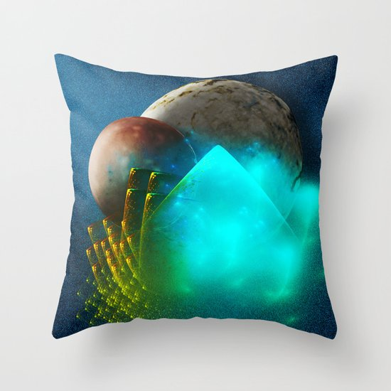 New worlds ripe for exploring Throw Pillow