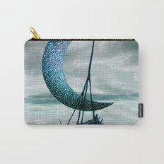 Boat and Moon Carry-All Pouch