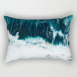 Ocean Blues II Rectangular Pillow