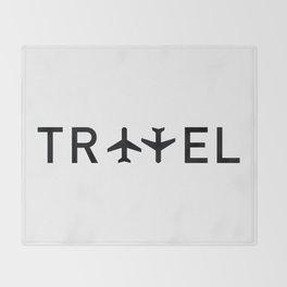 Travel and enjoy Throw Blanket